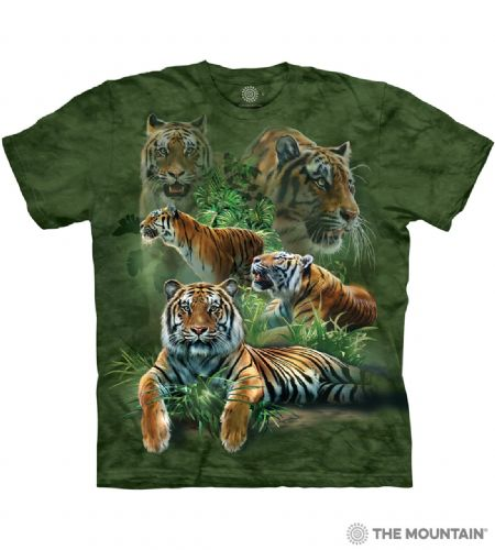 Jungle Tigers T-shirt | The Mountain®